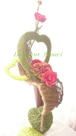Le point fleuri